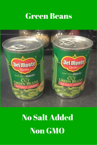 Green Beans - No Salt Added - Non GMO